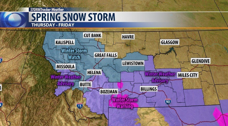 Latest Forecast: Rain & Snow Return To Colorado Tonight