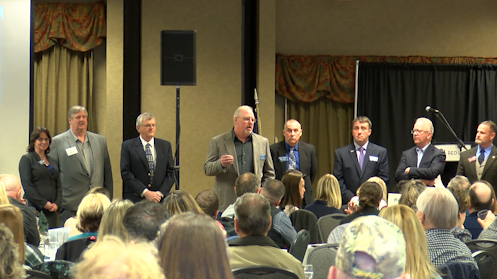The next candidate forum will be held on April 25 in Kalispell. (MTN News photo)