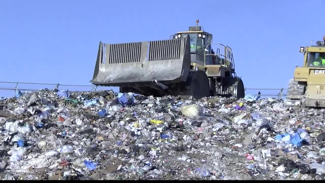 Clean dry and empty is the battle cry to successful recycling -- in fact the more, the better. (MTN News photo)