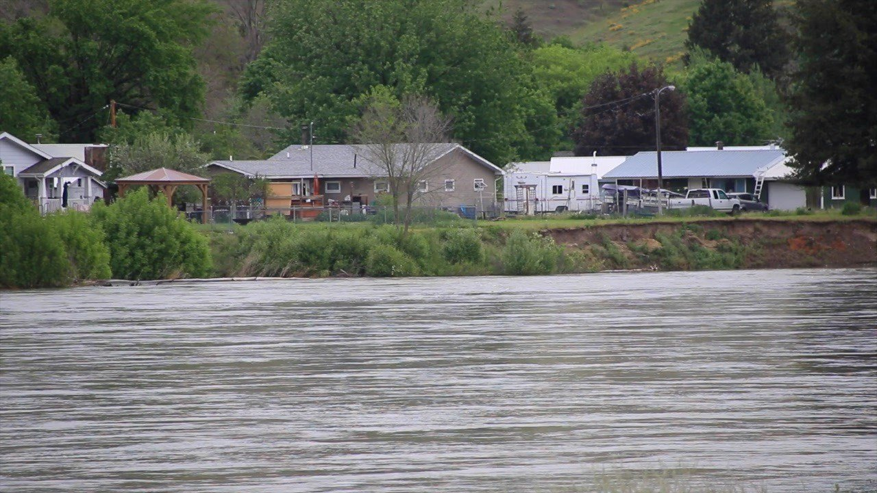 The Clark Fork River near Plains. (Dennis Bragg/MTN News photo)
