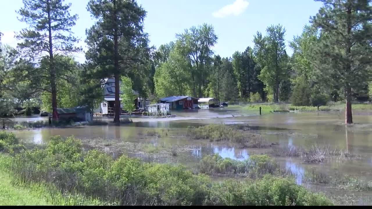 Although the river is now seeing lower water levels, authorities stress that the flooding emergency is not over and river levels are expected to rise again. (MTN News photo)