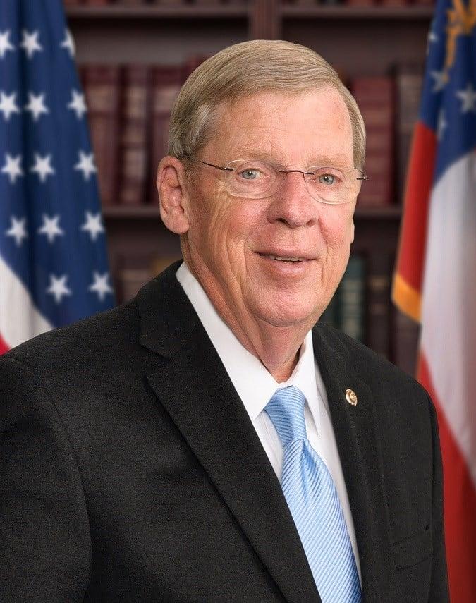 Senate Veterans Affairs Chairman Johnny Isakson  (photo credit: Johnny Isakson Senate office)