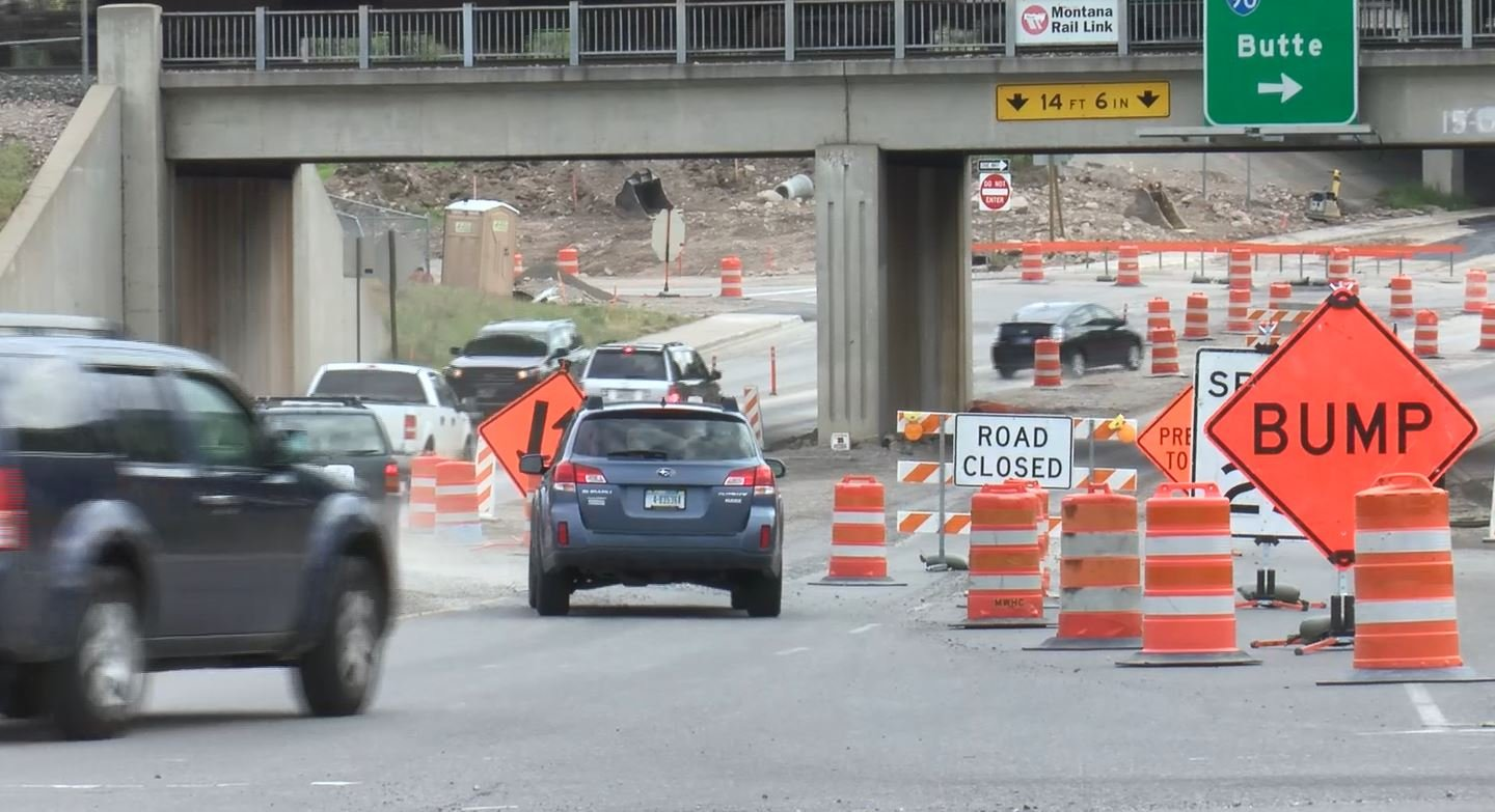 The closure will be from I-90 westbound on and off ramps to Poplar Street as work continues on a new roundabout. (MTN News photo)