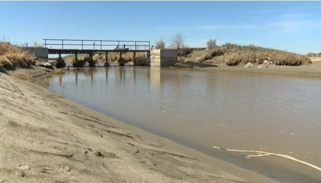 Private property infrastructure, helping irrigate land. (MTN News photo)