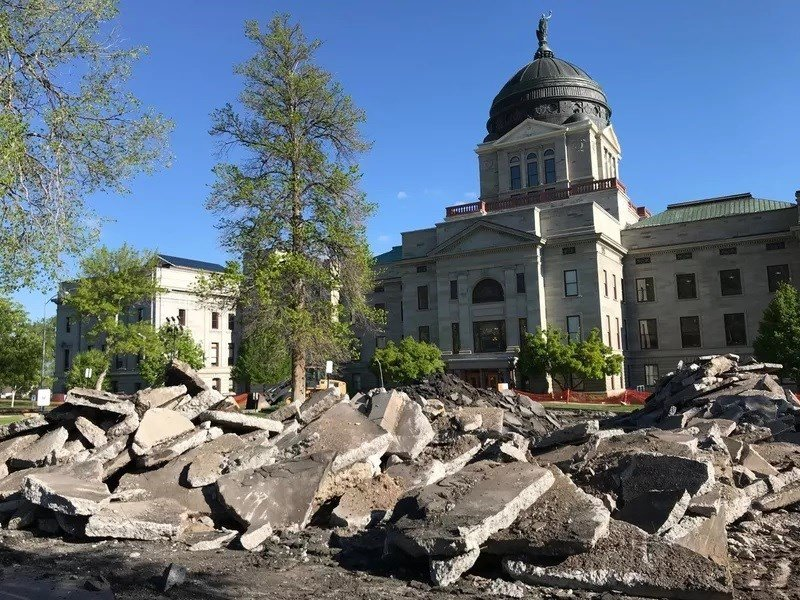 Montana's State Capitol Complex in Helena is undergoing upgrades for ADA compliance.(MTN News photo)