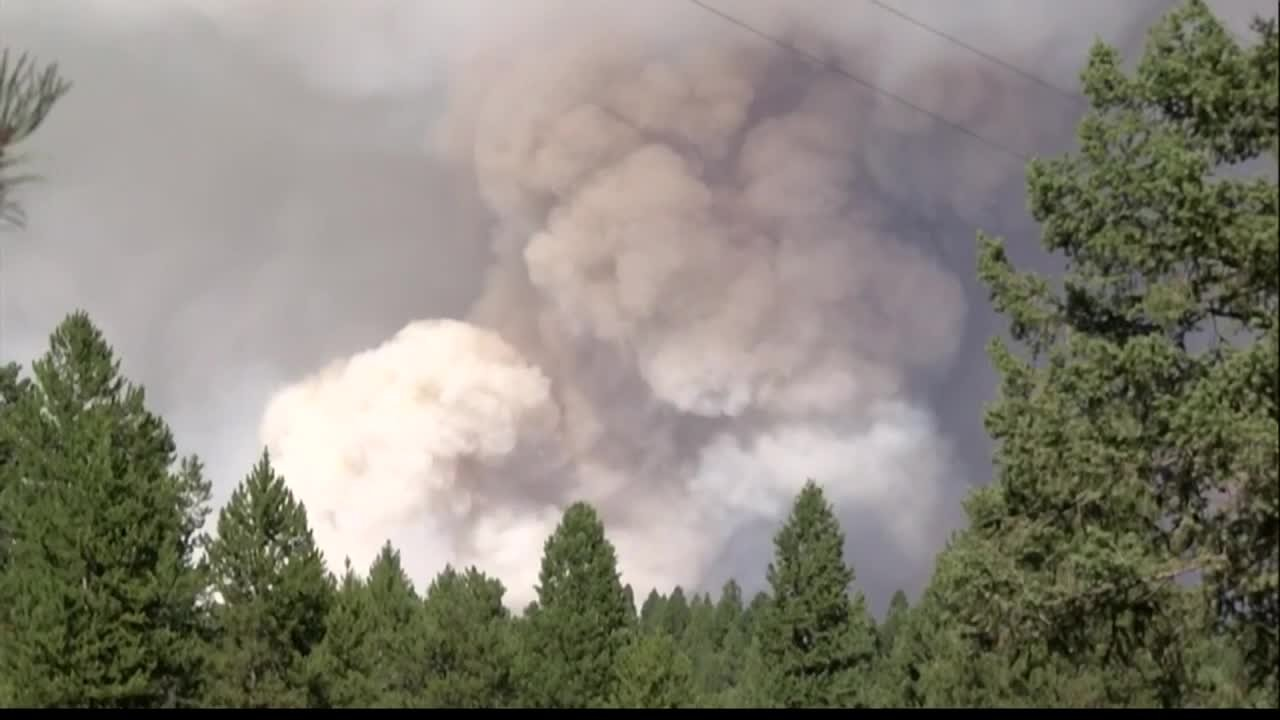 The Rice Ridge fire burned over 160,000 acres and was the largest fire in Western Montana last summer. (MTN News file photo)