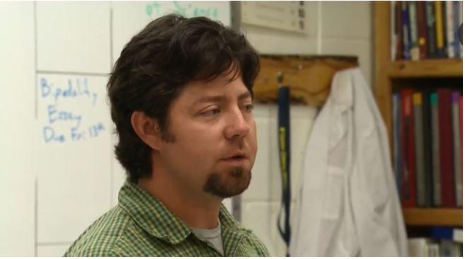 Morgan Pett, 38 was a science teacher at Custer County High School. (Montana PBS photo)