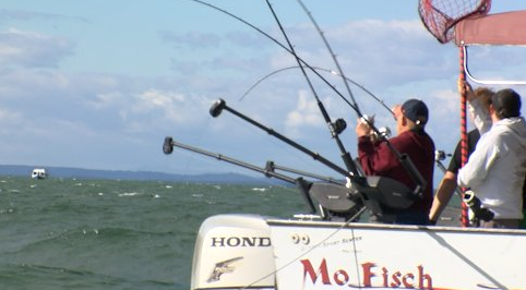 "Montana Fish, Wildlife and Parks hosts the Jerry Howard ""Fishing Without Barriers Day on Flathead Lake each year. (MTN News photo)"