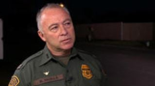 Chief Manuel Padilla of the Rio Grande Valley Sector of Customs and Border Protection. (CBS News photo)