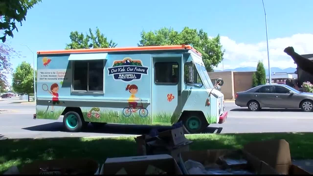 A grant has allowed Kalispell to launch a Summer Food Truck this year to serve summer meals at six additional locations. (MTN News photo)