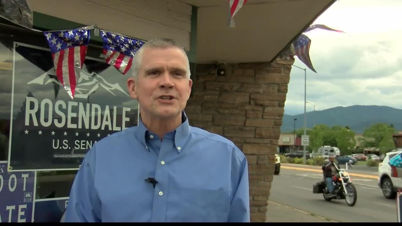 Republican US Senate candidate Matt Rosendale (MTN News photo)