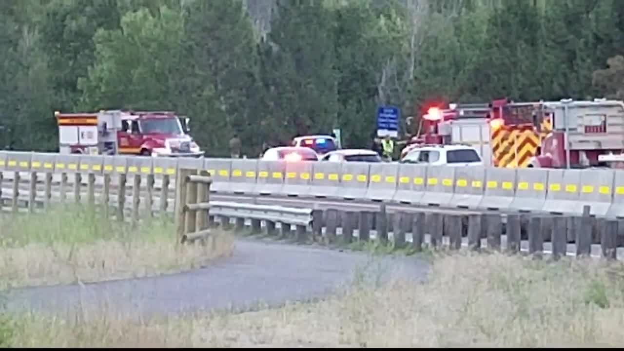 The fatal accident happened on Highway 93 just north of Lolo. (MTN News photo)