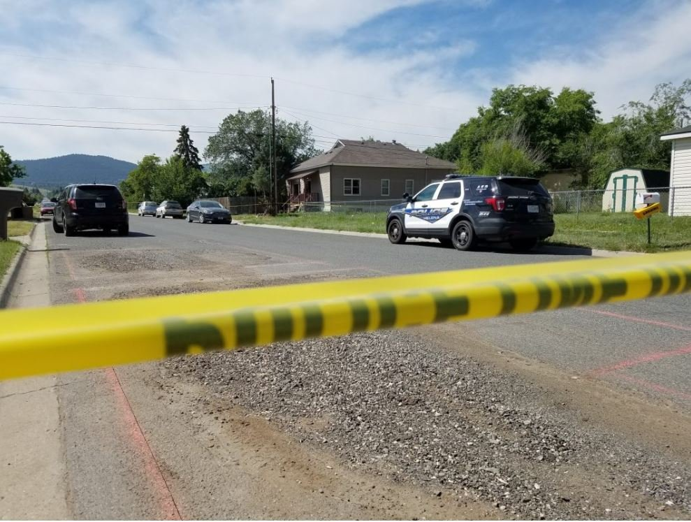 Two bodies have been found at a home in the 1100 block of North Hannaford Street in Helena. (MTN News photo)
