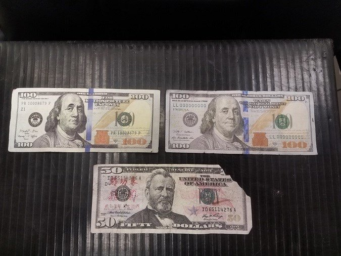 Ronan Police reports that counterfeit money has been turning up around town recently. (Ronan Police Department photo)