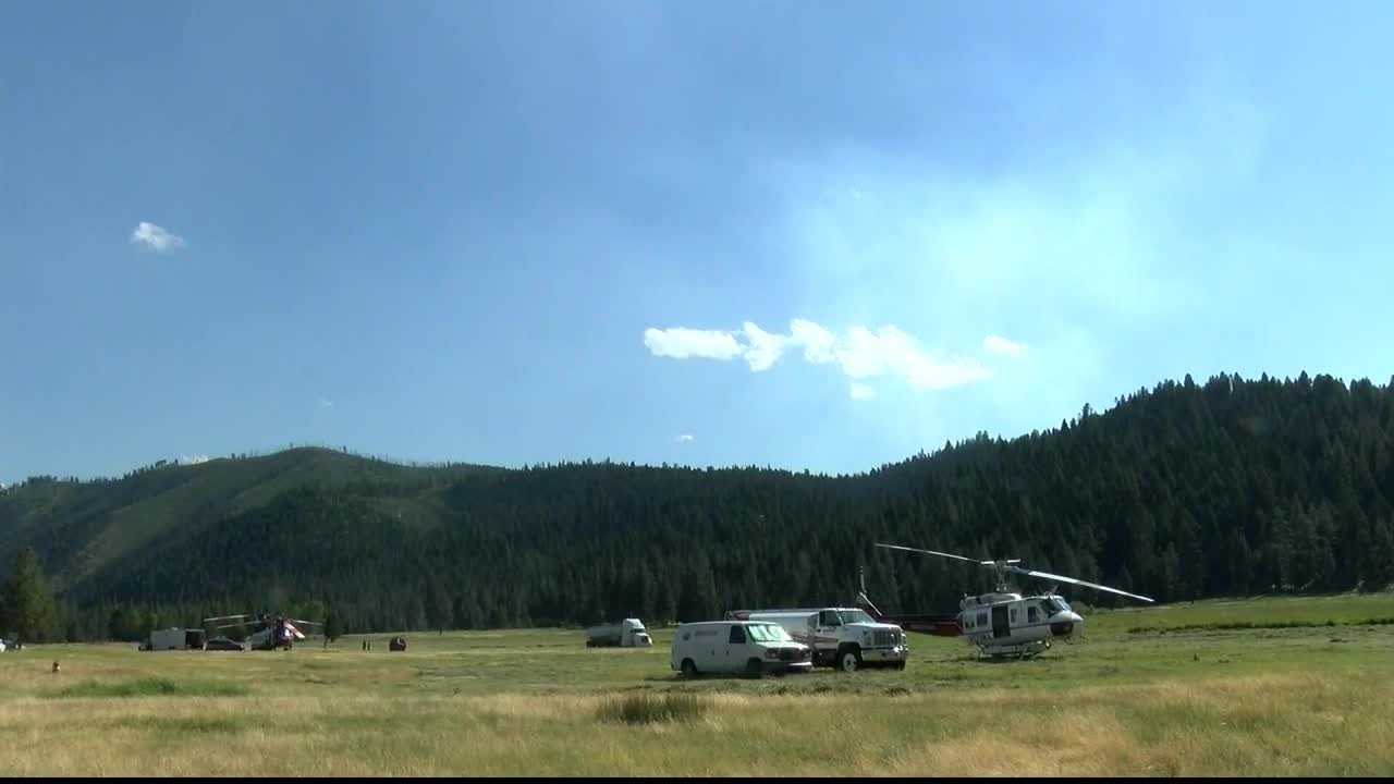 Resources are continuing to arrive to battle the Reynolds Lake fire in the Bitterroot. (MTN News photo)