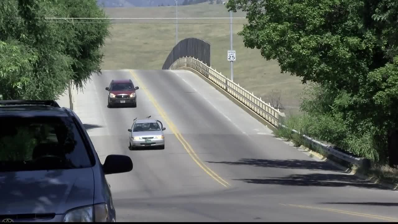 A section of road near the Scott Street Bridge will be closed until Sept. 7. (MTN News photo)
