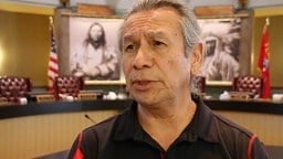 CSKT Tribal Chairman Vernon Finley (MTN News photo)