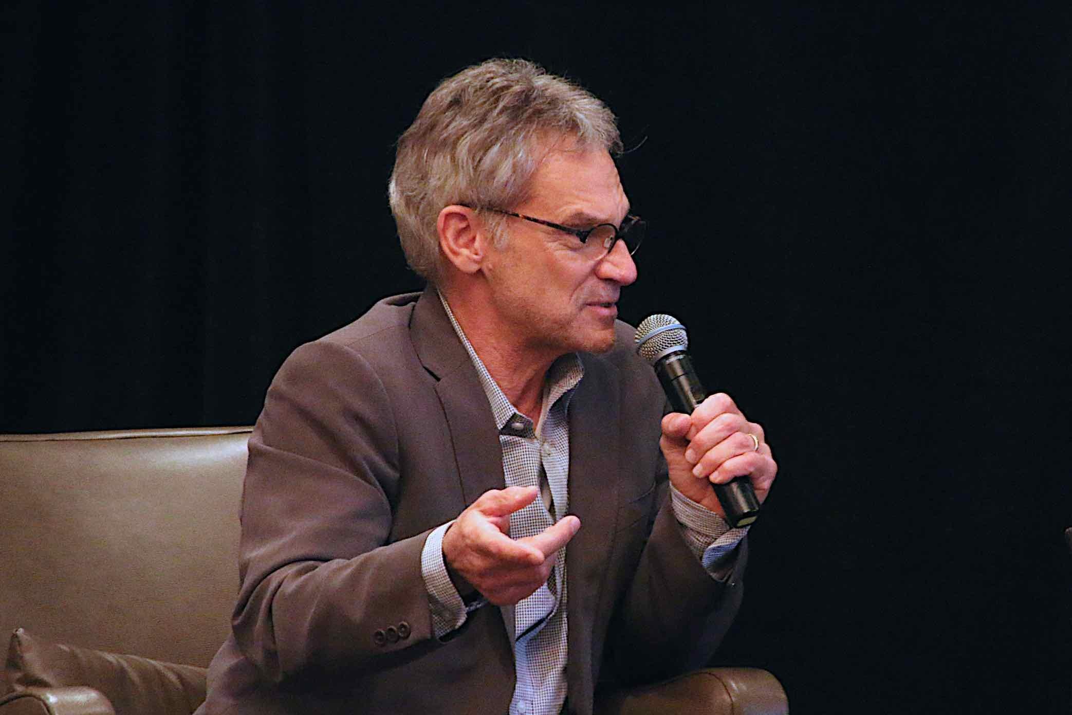 Jon Krakauer spoke in Missoula about his new book (MTN News photo)