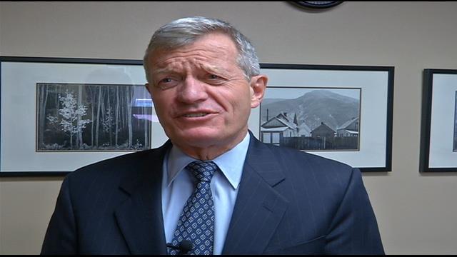 U.S. Ambassador to China Max Baucus (MTN News photo)