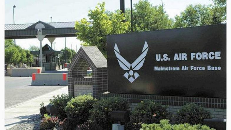 Malmstrom Air Force Base main gate (MTN News photo)