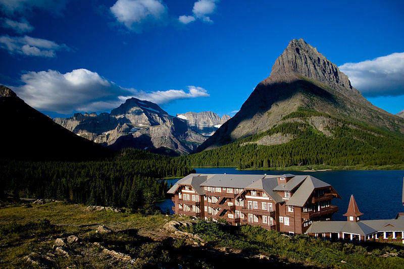 Many Glacier Hotel (Glacier National Park photo)