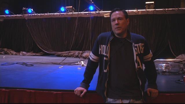 Bozeman illusionist Jay Owenhouse says he enjoys performing in Missoula (MTN News photo)