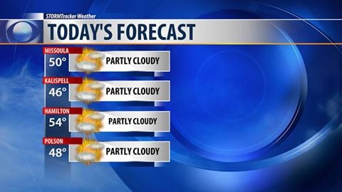 Area forecast: Breezy today, with below-normal temperatures