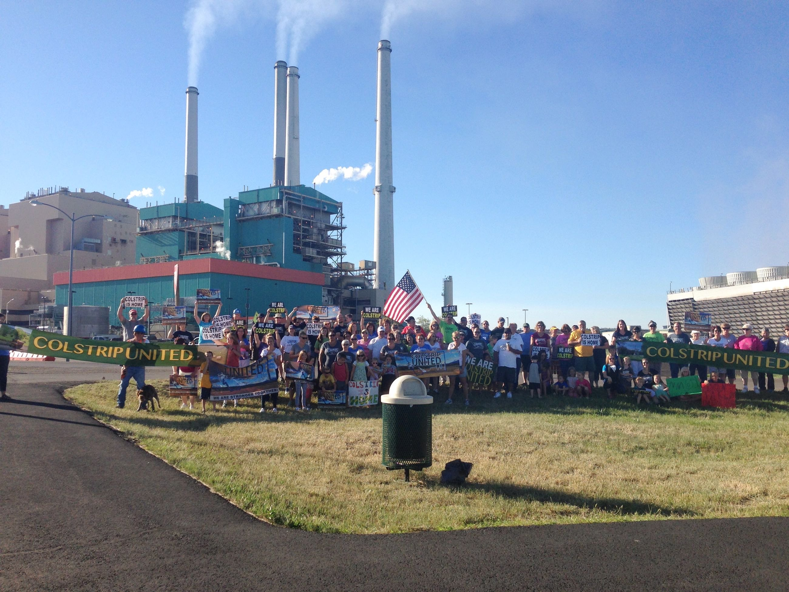 Colstrip United hosts rally to support power plant jobs KRTV