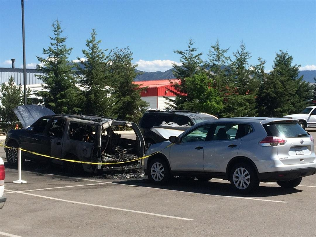 Several Vehicles Burned In Suspected Missoula Arson Case Krtv News In Great Falls Montana