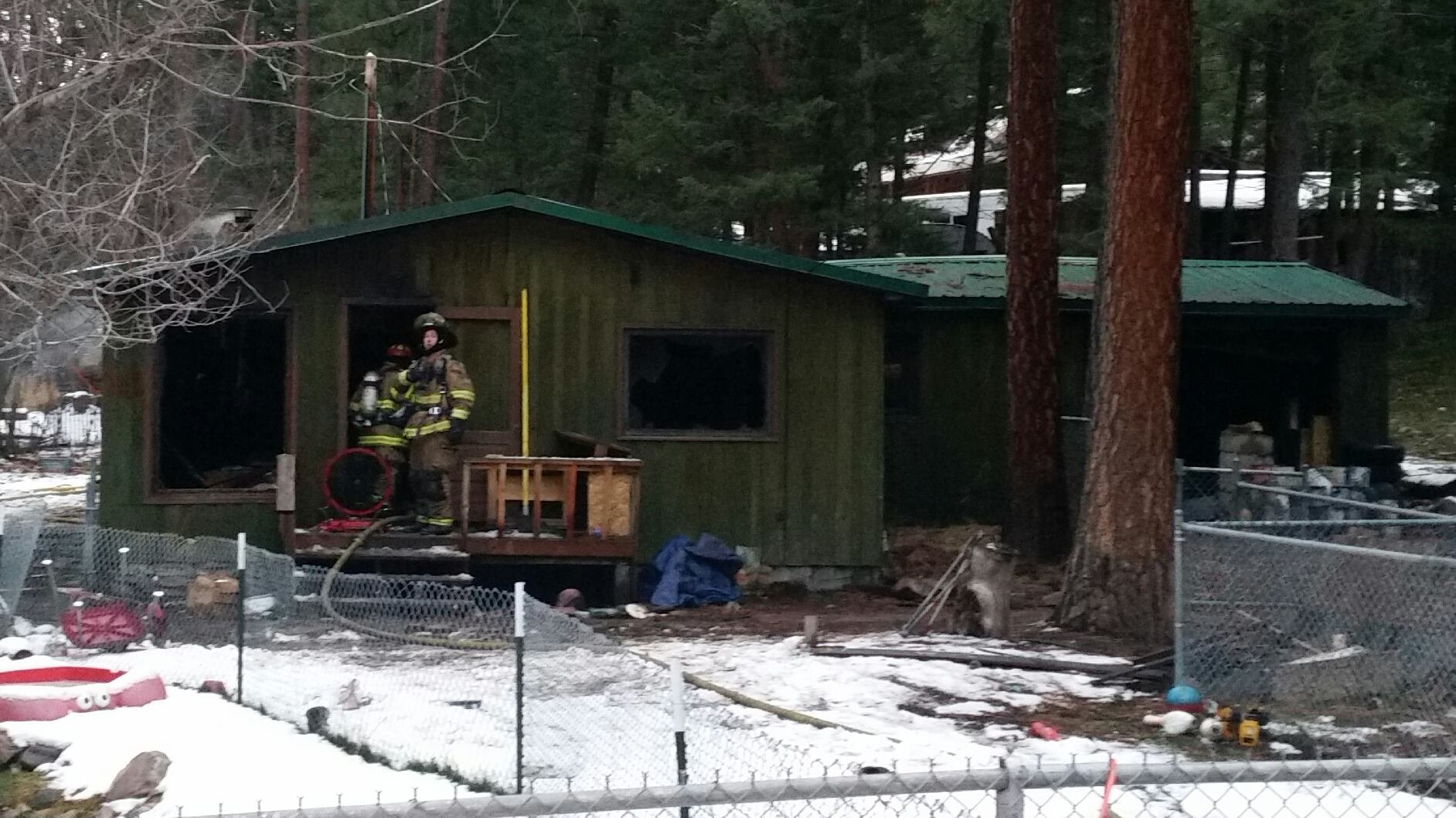 Montana missoula county clinton - A Sunday Blaze Hit A Home On Leo Gary Road Near Clinton Photo Credit