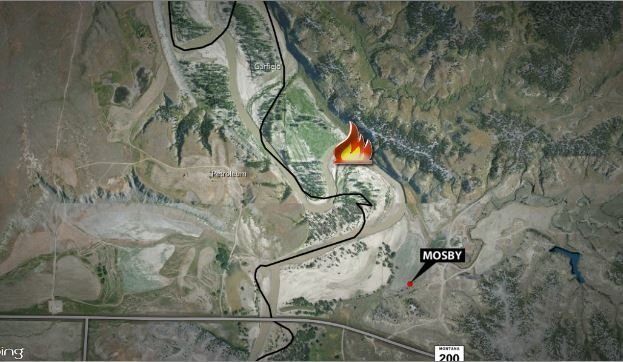 Eastern Montana fires grow to 200000 acres  KPAXcom