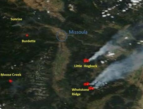Wildfire smoke beginning to impact Western Montana air quality ...