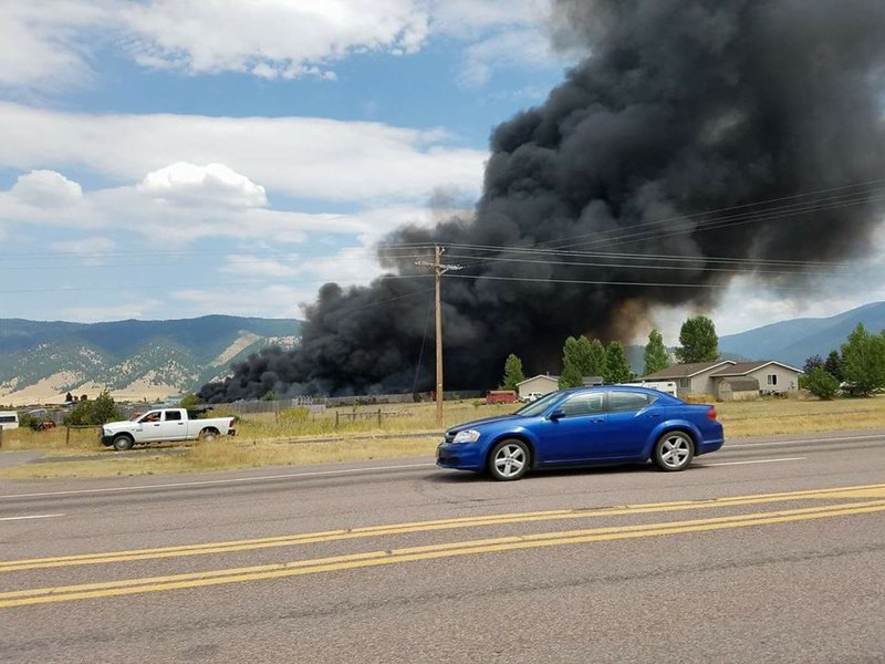 Nearly 500 cars destroyed in Arlee salvage yard fire - KPAX.com ...