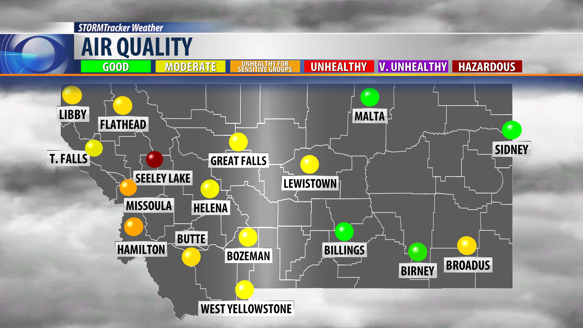 Air quality goes downhill in Western Montana - KPAX.com ...