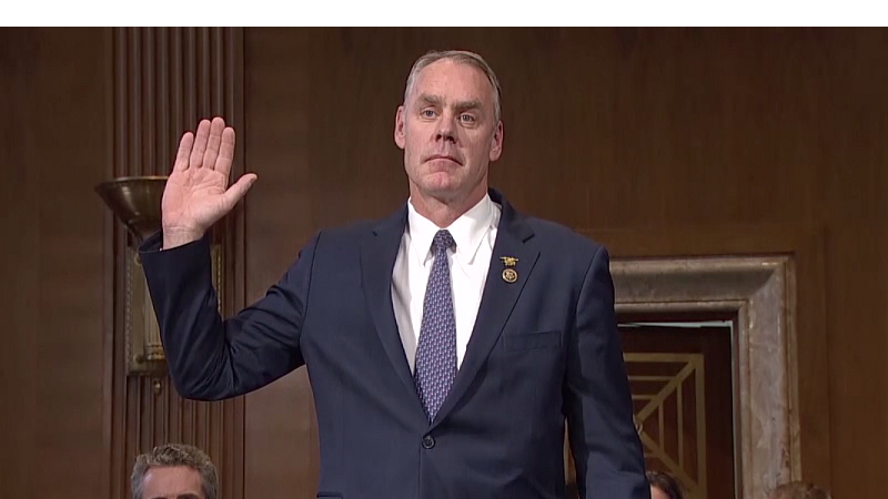 Cantwell Zinke 39 S Comments About Interior Employees 39 Loyalty A 39 Krtv News In Great Falls Montana