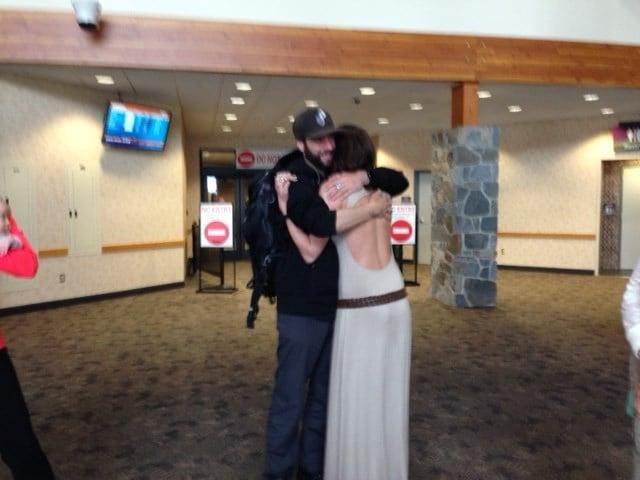 Montana manning wedding