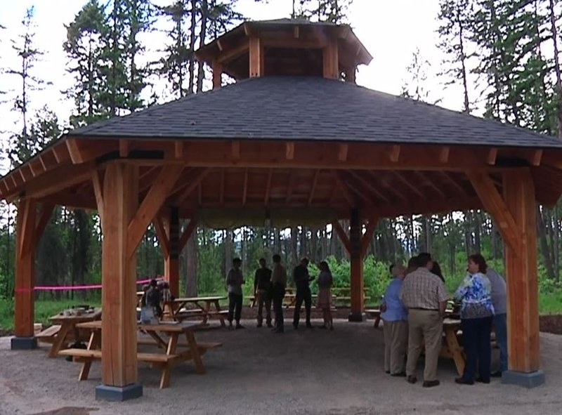 Whitefish trail learning pavilion opens for Pavilion cost per square foot
