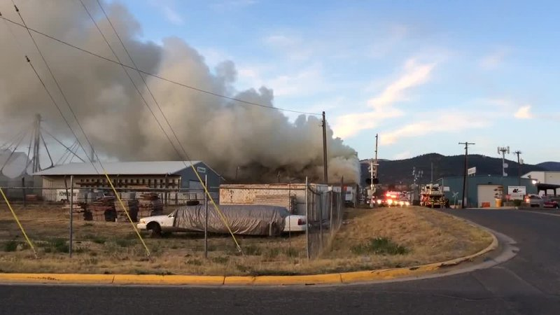 Early morning fire at restore in helena for Helena motors helena montana