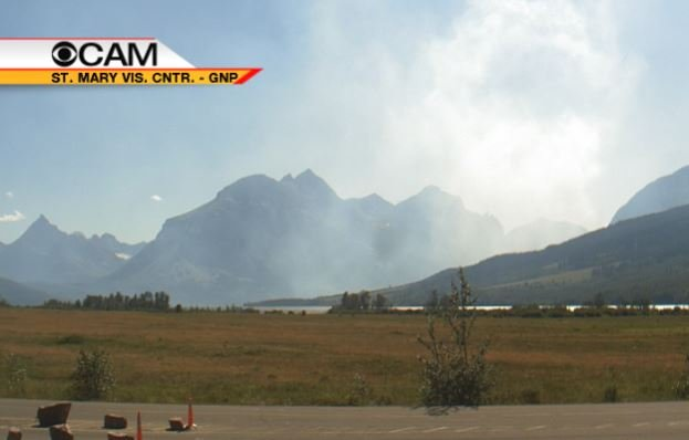 Wildfire Closes Portion Of Going To The Sun Road