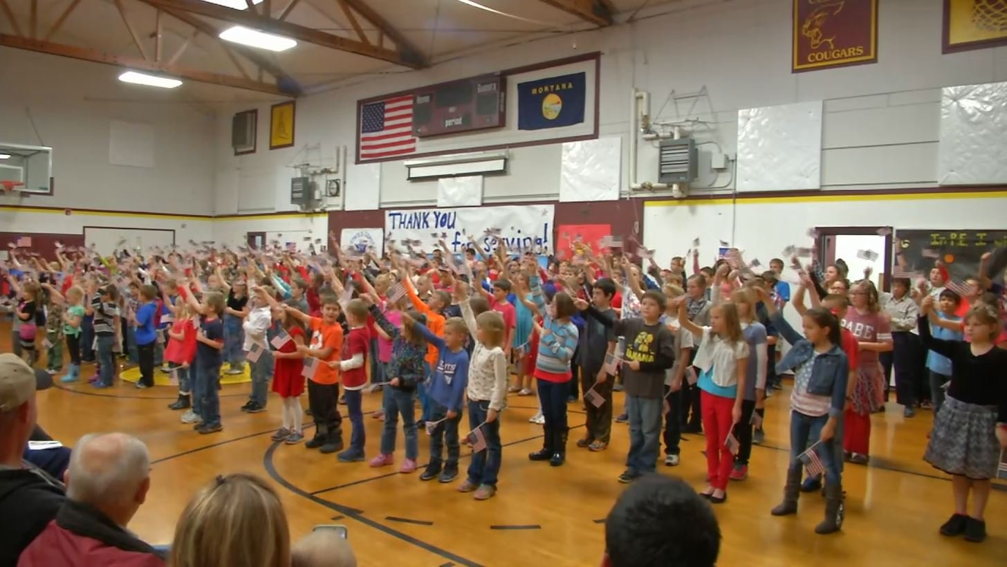 Montana missoula county clinton - Students At The Clinton School Had A Special Celebration Of Their Own For Veteran S Day