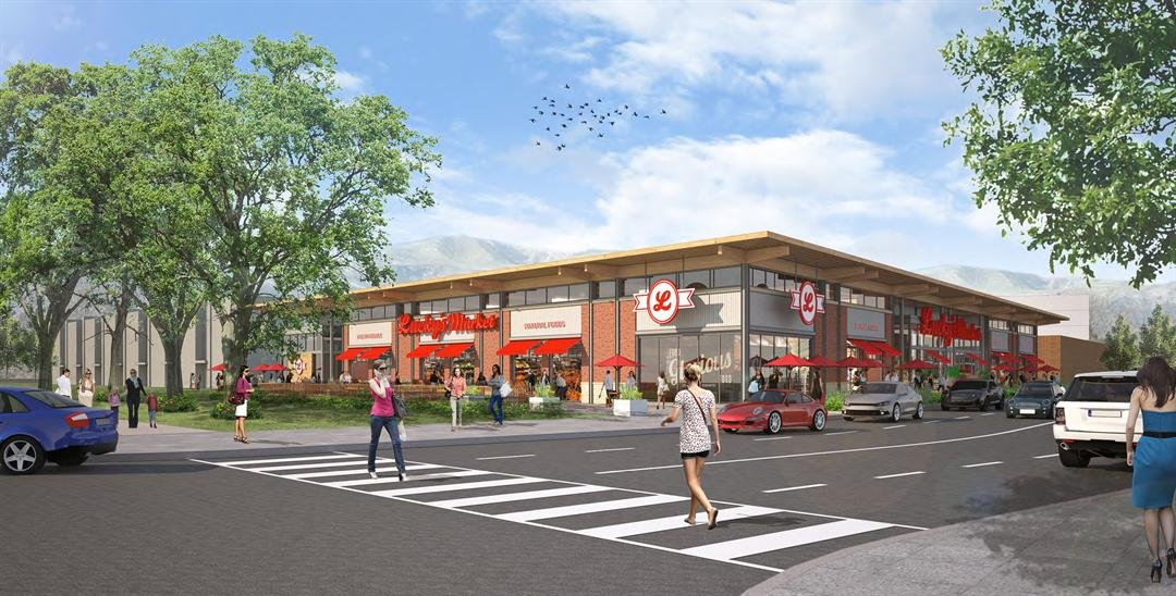 The market is part of the multi-million dollar redevelopment taking place at the Southgate Mall. (courtesy image)