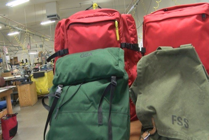 Helena Industries provides services for people with disabilities, and at their Benchmark Manufacturing facility, backpacks are made for the USFS. (MTN News photo)
