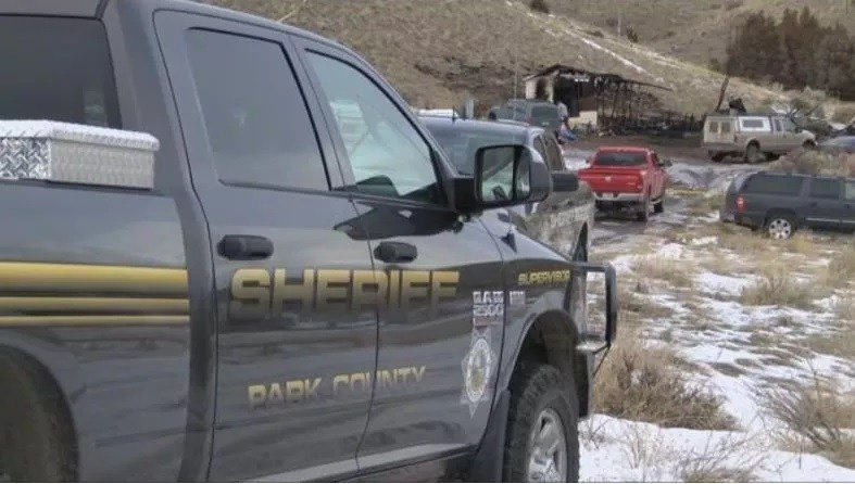 2 people were found dead after a fire on 1.25.18 near Emigrant. (MTN News photo)