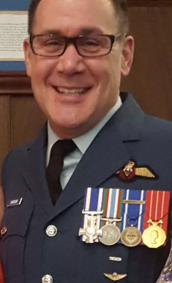 Shawn Harrison's military medals were stolen during a visit to Great Falls.