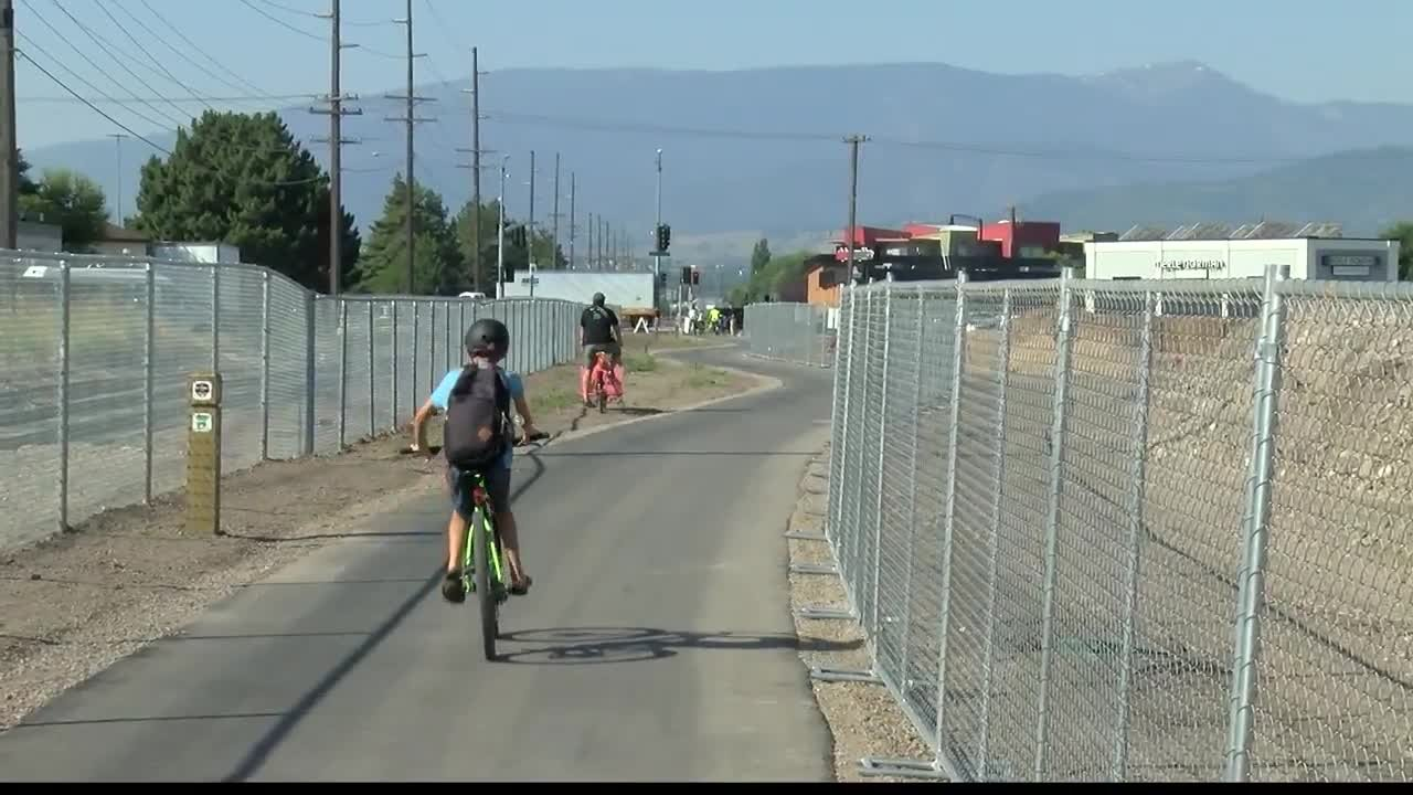 The section of trail is now part of a trail that stretches from Missoula to Hamilton. (MTN News photo)