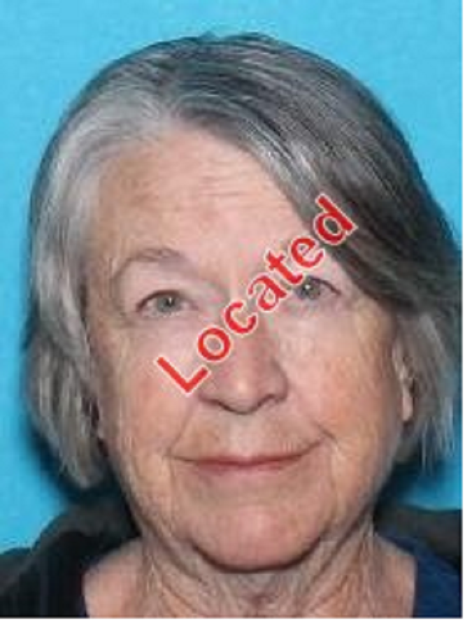Kay Hill Yaskus, 75, who went missing from her home in Stevensville was found on Thursday evening. (Ravalli County Sheriff's Office photo)