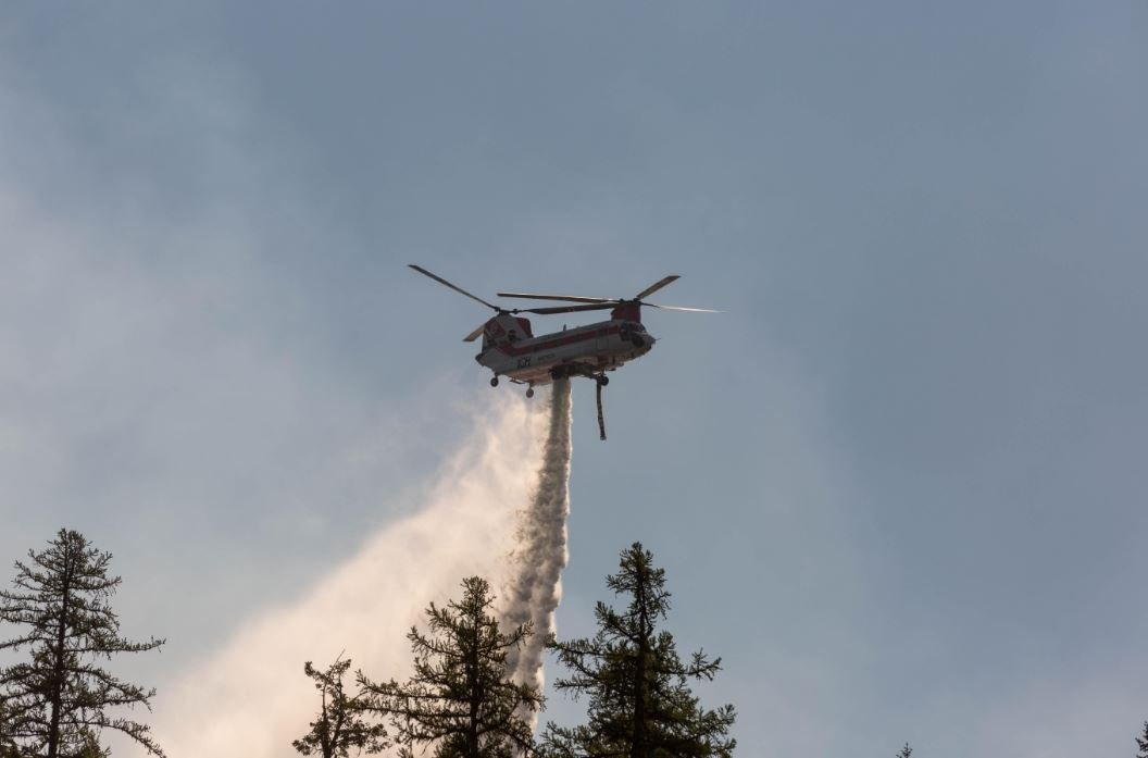 The Ten Mile and Sterling Complex fires are burning in the Kootenai National Forest. (inciweb.org photo)