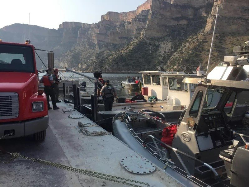 Searchers have recovered and identified the third and final body from a boating accident a week ago in Bighorn Lake.
