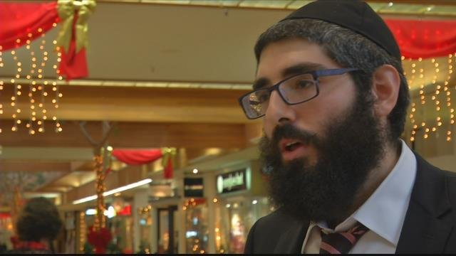 Rabbi Berry Nash of Chabad Lubavitch of Missoula (MTN News photo)