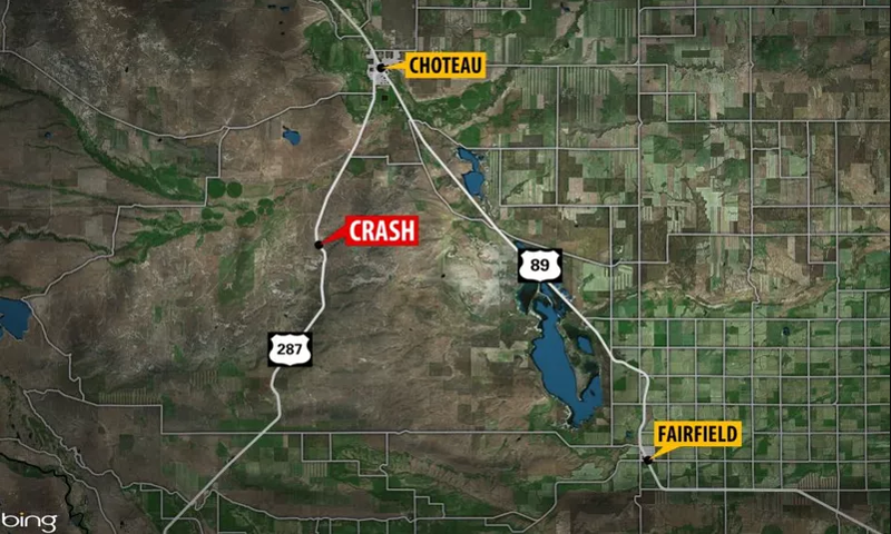 Fatal crash reported in Teton County